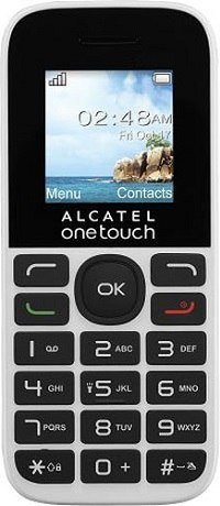 Телефон Alcatel One Touch 1016D White