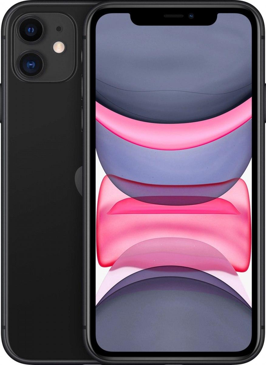 Купить Смартфон Apple iPhone 11 128Gb Black в Крыму | Цена на Смартфон Эппл Айфон 11 128Гб Черный в магазине Парк в Симферополе, Севастополе, Ялте, Евпатории и других городах