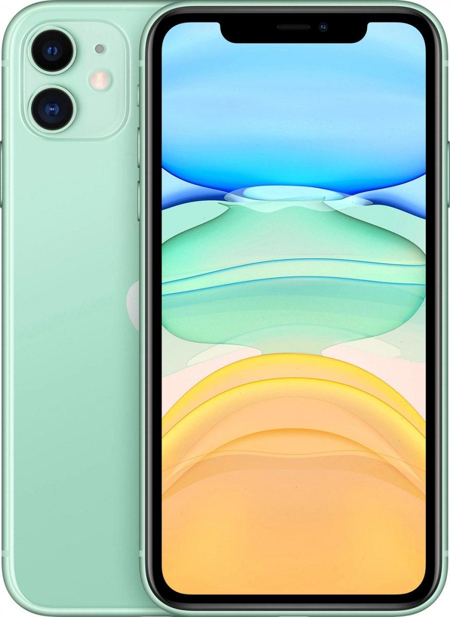 Купить Смартфон Apple iPhone 11 64Gb Green в Симферополе, Севастополе, Ялте, Евпатории и по всему Крыму по лучшей цене | ПАРК