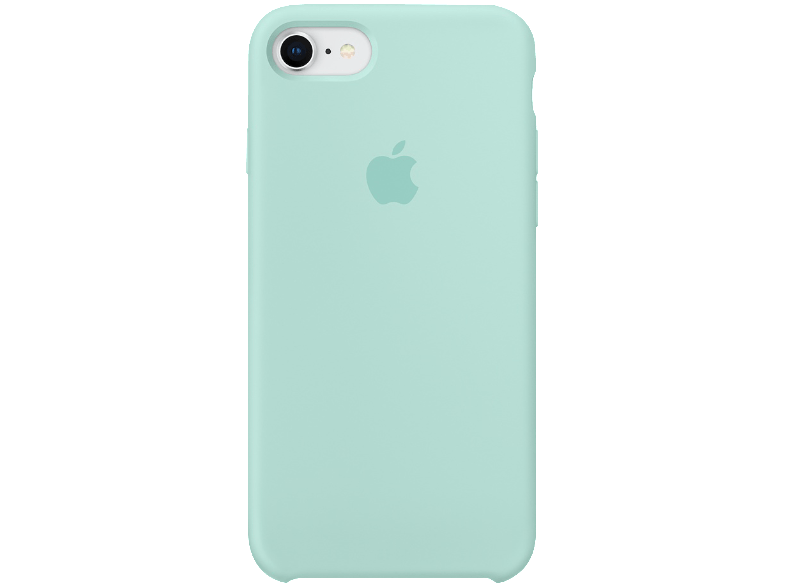 brand new 838ae ea1b8 Чехол-накладка Apple Silicone Case MRR72ZM/A для iPhone 7 Marine Green