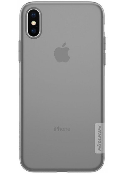 Чехол-накладка Nillkin Nature TPU Gray для Apple iPhone X купить ... 4623811737c4c