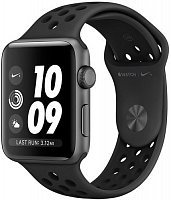 Умные часы Apple Watch Series 3 42mm Aluminum Case with Nike Sport Band