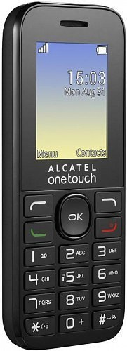 Телефон Alcatel One Touch 1016D black