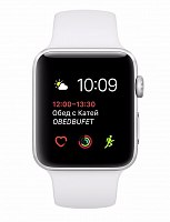 Умные часы Apple Watch Series 2 38mm Aluminum Case with Sport Band Silver