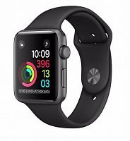 Умные часы Apple Watch Series 2 42mm with Nike Sport Band Space gray