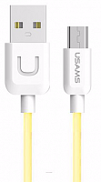 Кабель Usams U-Turn US-SJ098 USB - microUSB yellow