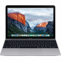 "Ноутбук Apple MacBook 12"" 256GB Space Gray (MLH72) 2016 Space Gray"