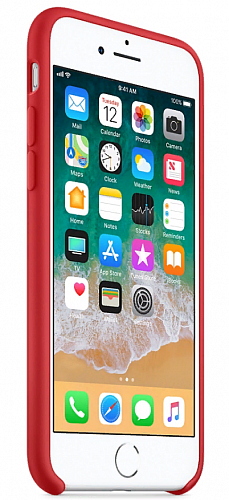 Чехол-накладка Apple Silicone Case MQGP2ZM/A Red для iPhone 7/8