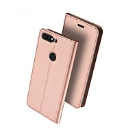 Чехол-книжка DuxDucis для Huawei Honor 7A Pro/7C Rose Gold