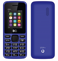 Телефон BQ Mobile BQM-1831 Step+ Blue