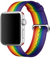 Ремешок Apple Woven Nylon Pride Edition MQ4G2 для Watch 38mm