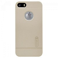 Чехол-накладка Nillkin Super Frosted Shield для Apple iPhone 5s/SE Gold