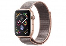 Умные часы Apple Watch Sport S4 44mm MU6G2 Rose Gold/Pink