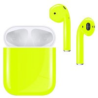 Bluetooth-наушники с микрофоном Apple AirPods Nightglow Yellow