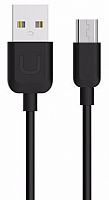 Кабель Usams U-Turn US-SJ098 USB - microUSB black