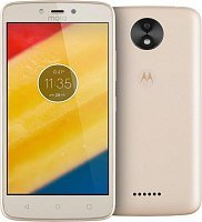 Смартфон Motorola Moto C Plus 16GB Fine Gold