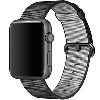 Ремешок Woven Nylon для Apple Watch 38 black