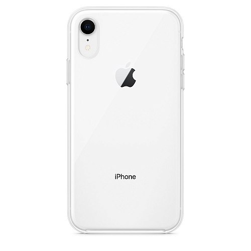 Чехол-накладка Apple Clear Case MRW62ZM/A для Apple iPhone XR
