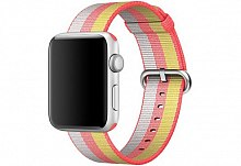 Ремешок Apple Woven Nylon Red MPW72ZM/A для Watch 42mm