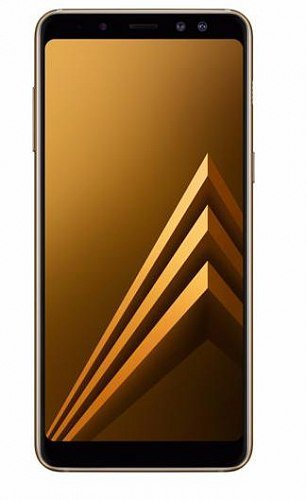 Смартфон Samsung Galaxy A8 (2018) Gold