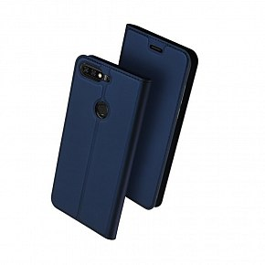 Чехол-книжка DuxDucis для Huawei Honor 7A Pro/7C Dark Blue