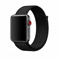 Ремешок Apple MRPH2ZM/A Sport Loop для Watch 42mm Black / Pure Platinum