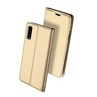 Чехол-книжка DuxDucis для Samsung Galaxy A7 2018 A750 Dark Gold