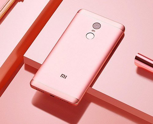 Смартфон Xiaomi RedMi Note 4x 64Gb Pink
