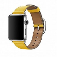 Ремешок Apple MPX62AM/A Classic Buckle Sunflower Leather для Watch 42mm