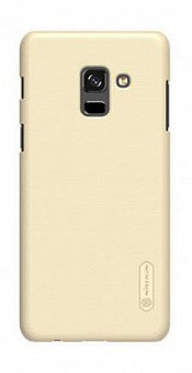 Чехол-накладка Nillkin Super Frosted для Samsung Galaxy A8 2018 A530 Gold