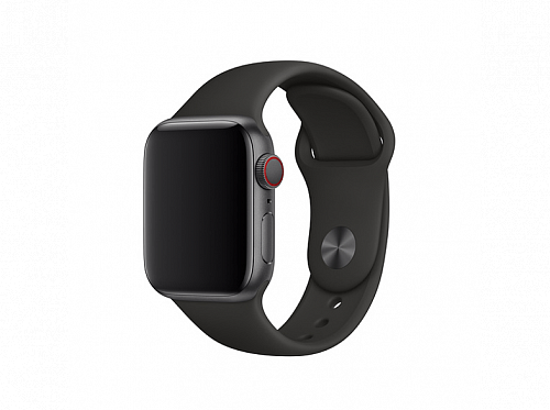 Ремешок Apple Sport Band MTP62ZM/A для Watch 38mm Black
