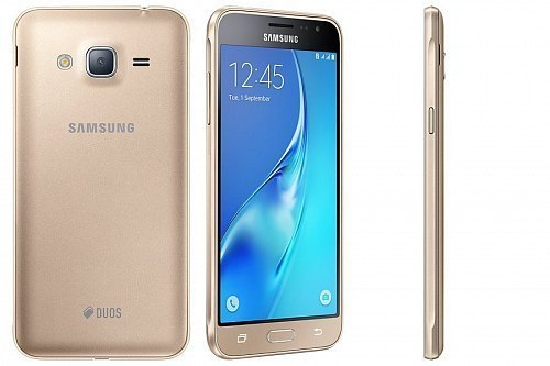 Смартфон Samsung Galaxy J3 (2016) SM-J320F/DS Gold