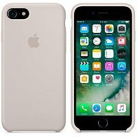 Чехол-накладка Apple Silicone Case MMWR2ZM/A для iPhone 7 Stone