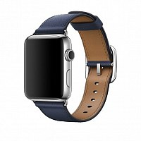 Ремешок Apple MPWV2AM/A Classic Buckle Midnight Blue для Watch 42mm
