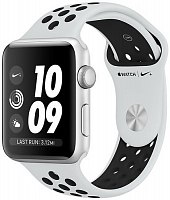 Умные часы Apple Watch Series 3 42mm Aluminum Case with Nike Sport Band Space Gray