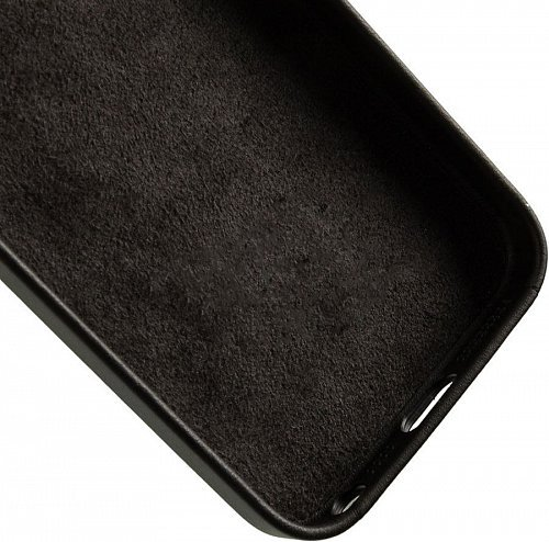 Чехол-накладка Apple Leather MMHH2ZM/A для iPhone 5/SE black