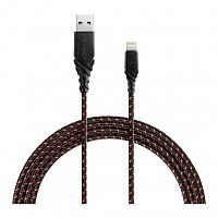 Кабель Energea Nyloglitz USB - Lightning red