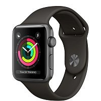 Умные часы Apple Watch Series 3 42mm Aluminum Case with Sport Band Space Gray