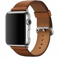 Ремешок Apple Classic Buckle Saddle Brown для Watch 38mm