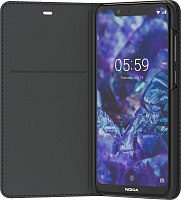 Чехол-книжка Entertainment Flip Cover CP-251 для Nokia 5.1 Plus Black