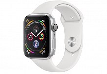 Умные часы Apple Watch Sport S4 40mm MU642 Silver/White